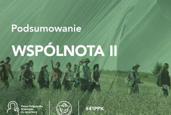 Podsumowanie 41. PPK - wspólnota II