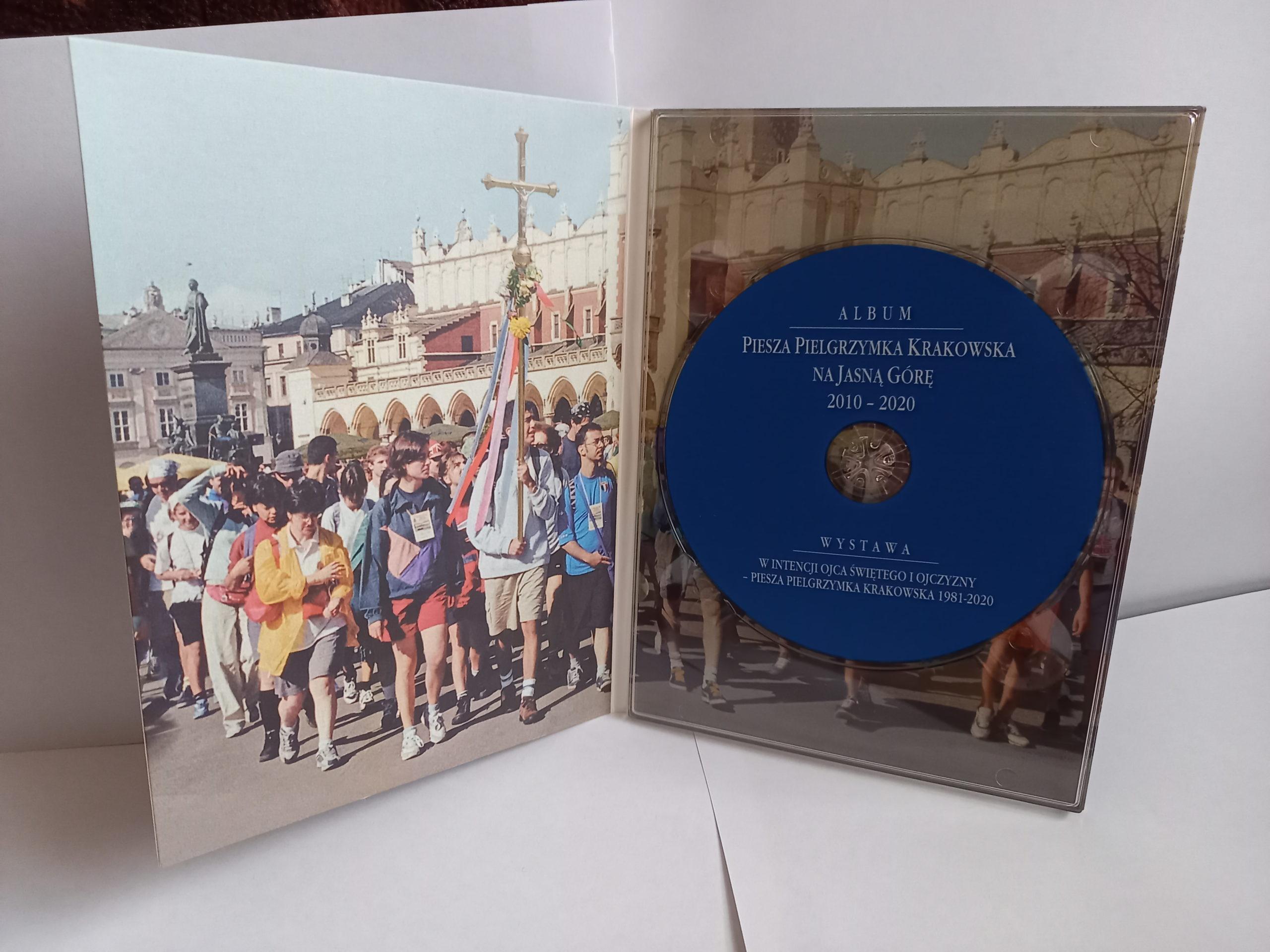 Album dokumentujący Pieszą Pielgrzymkę Krakowską 2010-2020