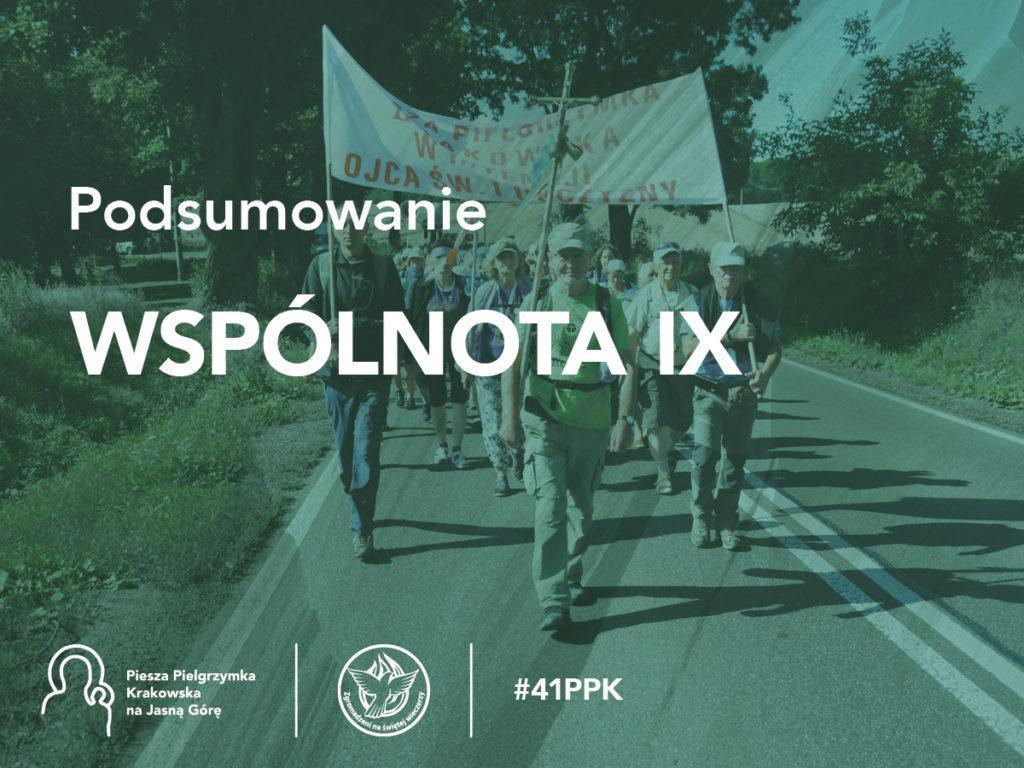 Podsumowanie 41. PPK - Wspólnota IX