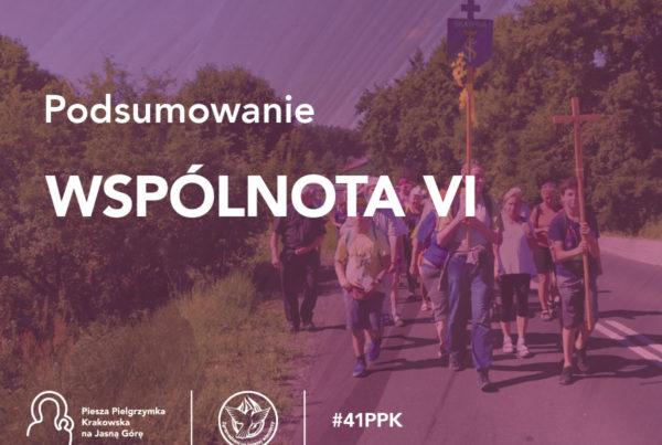 Podsumowanie 41. PPK - Wspólnota VI